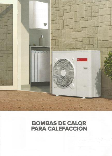 bomba de calor aerotermia, calor y refrescamiento
