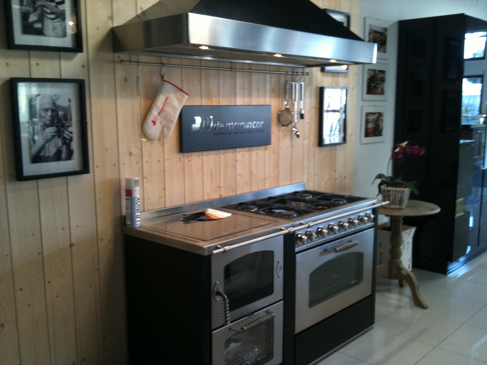 Combinacion cocina le a gas de manincor dpm especialidades for Cocinas de lena precios
